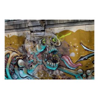 Frightened Skull