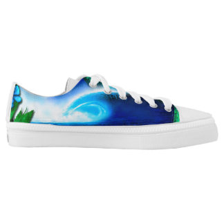 Frigid Glass limited edition Printed Shoes