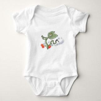 Frilled Lizard Baby Bodysuit