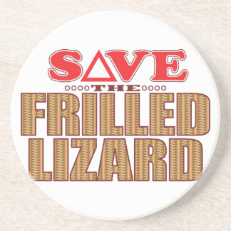 Frilled Lizard Save Coaster