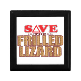 Frilled Lizard Save Gift Box