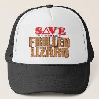 Frilled Lizard Save Trucker Hat