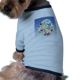 Frilly Florals Dog Tee Shirt