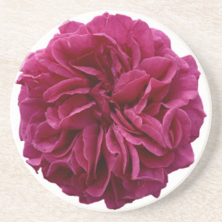 Frilly Red Rose Coaster