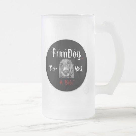 FrimDog Frosted Mug (side logos)