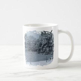 Fringe Border Design - 2-sided - Customized Basic White Mug