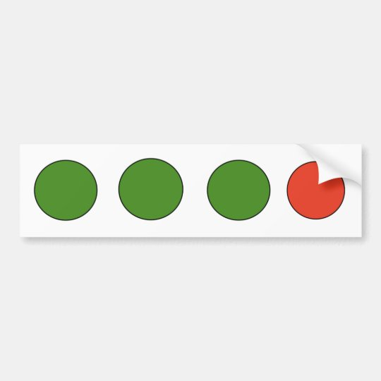 Fringe Bumper Sticker