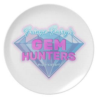 Fringe Fairy's Gem Hunters Dinner Plate