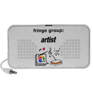 fringe group: artist portable speaker