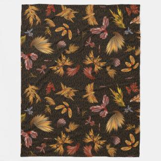 Fringe, the collection fleece blanket