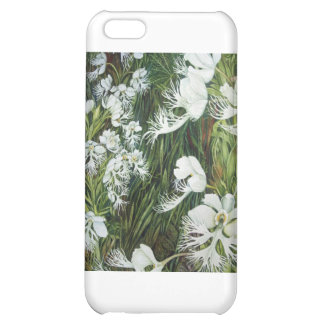 Fringed Prairie Orchids Cover For iPhone 5C