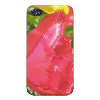 Fringed Tulips  Case For The iPhone 4