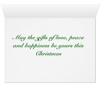 Frip Winter Church Greeting Card