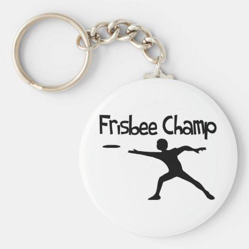 Frisbee Champ Key Chain