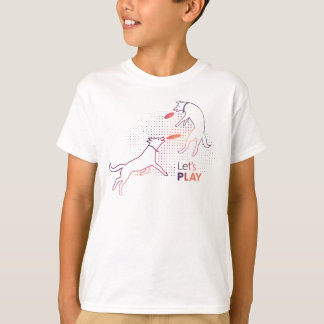Frisbee Dogs Kids Shirt
