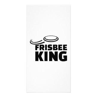 Frisbee king customised photo card