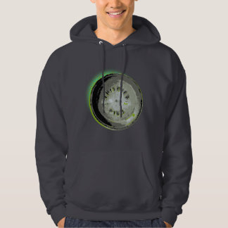 Frisbee Pie Tin Earth Colors Hoodie
