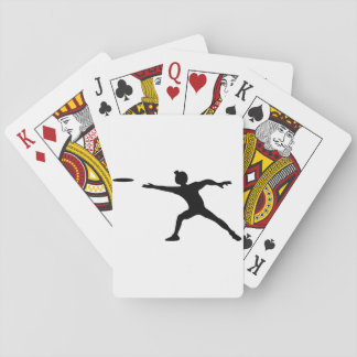 Frisbee Playing Cards