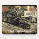 Frisco 151 arrives in Greebrier Mousepad