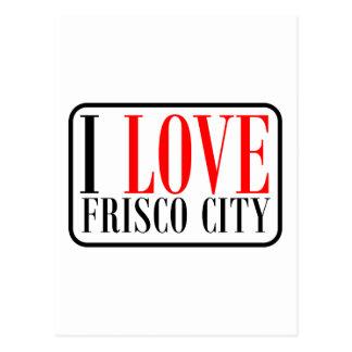 Frisco City Alabama Postcard