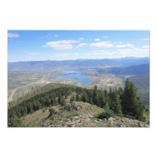 Frisco CO from Above Photographic Print