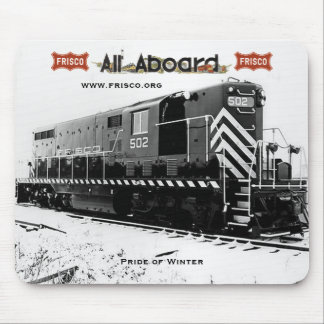 """Frisco GP7 """"Pride of Winter"""" Mouse Mat"""
