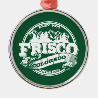 Frisco Old Circle Green Christmas Ornament