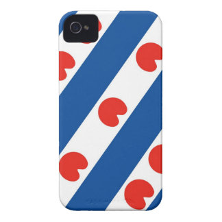 Frisia frisian flag netherlands country region iPhone 4 Case-Mate cases