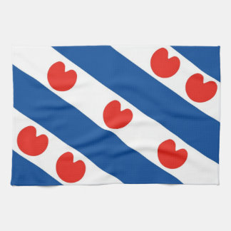 Frisia frisian flag netherlands country region tea towel