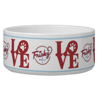Frisky In Philly: Love Pet Bowl