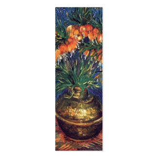 Fritillaries in a Copper Vase by Van Gogh. Business Cards