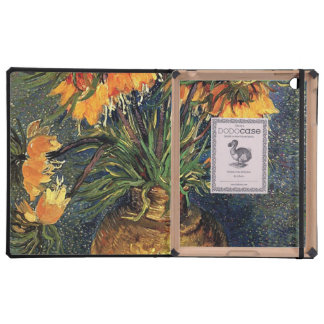Fritillaries in a Copper Vase by Van Gogh Cover For iPad