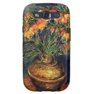 Fritillaries in a Copper Vase by Van Gogh Samsung Galaxy S3 Covers