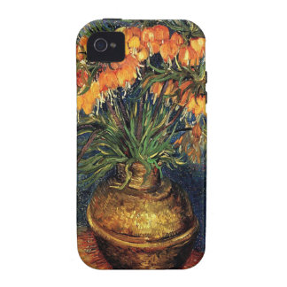 Fritillaries in a Copper Vase by Van Gogh. iPhone 4/4S Cover
