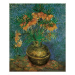 Fritillaries in a Copper Vase by Vincent van Gogh