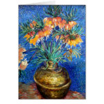 Fritillaries in Copper Bowl: Vincent Van Gogh Greeting Cards