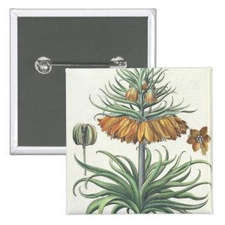 Fritillary: Corona Imperialis florum classe duplic 15 Cm Square Badge