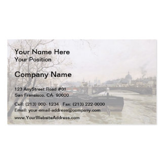 Frits Thaulow- Flooding by the Seine Business Card