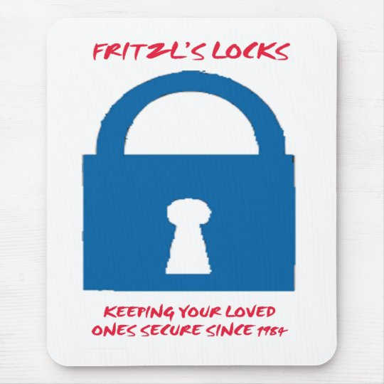 FRITZL'S LOCK MOUSE PAD