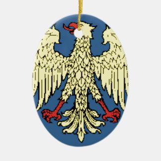 Friuli-Venezia Giulia (Italy) Flag Christmas Ornament