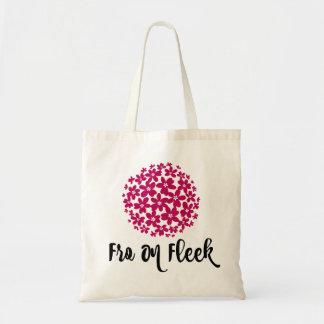 Fro On Fleek Tote - Pink Bloom