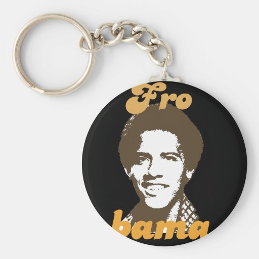 Frobama (brown) key chain