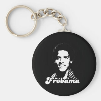 Frobama Gear Basic Round Button Key Ring