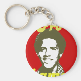 Frobama (green) key chain