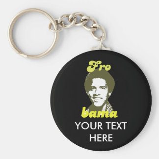 Frobama green keychains