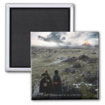 FRODO™ and Samwise Standing Square Magnet