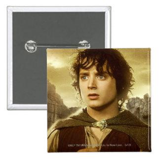 FRODO™ Golden 15 Cm Square Badge