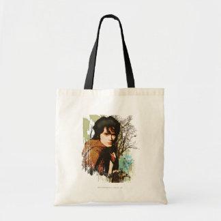 Frodo Mixed Media Vector Collage Canvas Bags