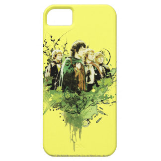 FRODO™ with Hobbits Vector Collage Barely There iPhone 5 Case