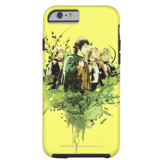 FRODO™ with Hobbits Vector Collage Tough iPhone 6 Case
